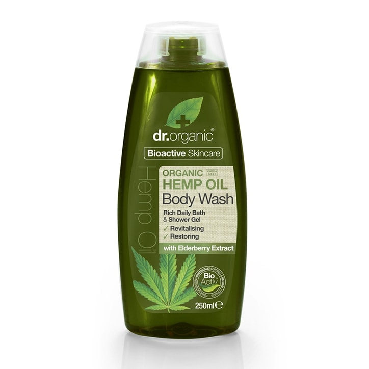 Dr Organic Hemp Oil Body Wash