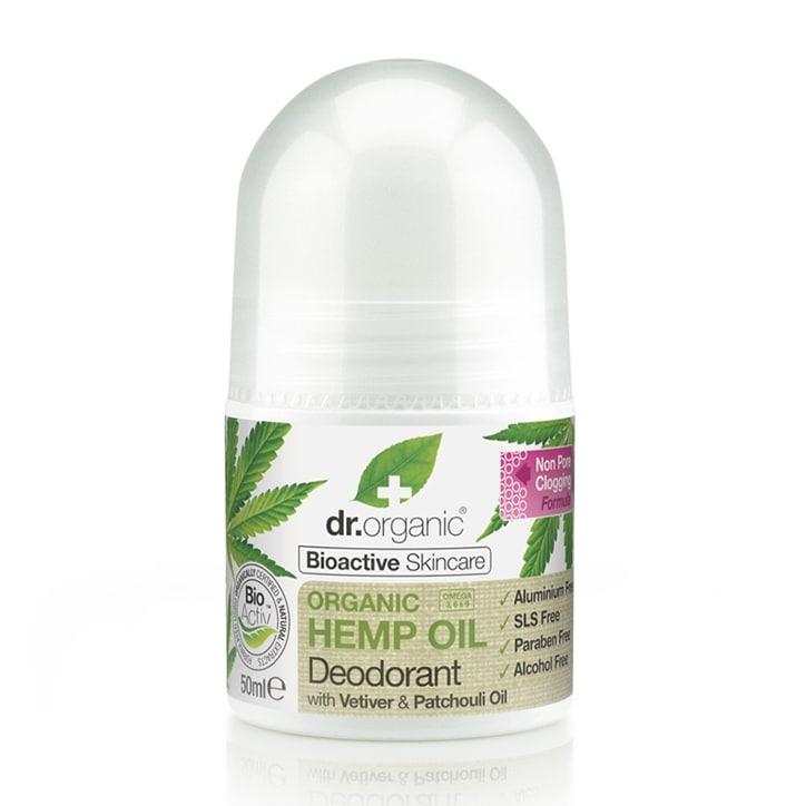Dr Organic Hemp Oil Deodorant 50ml