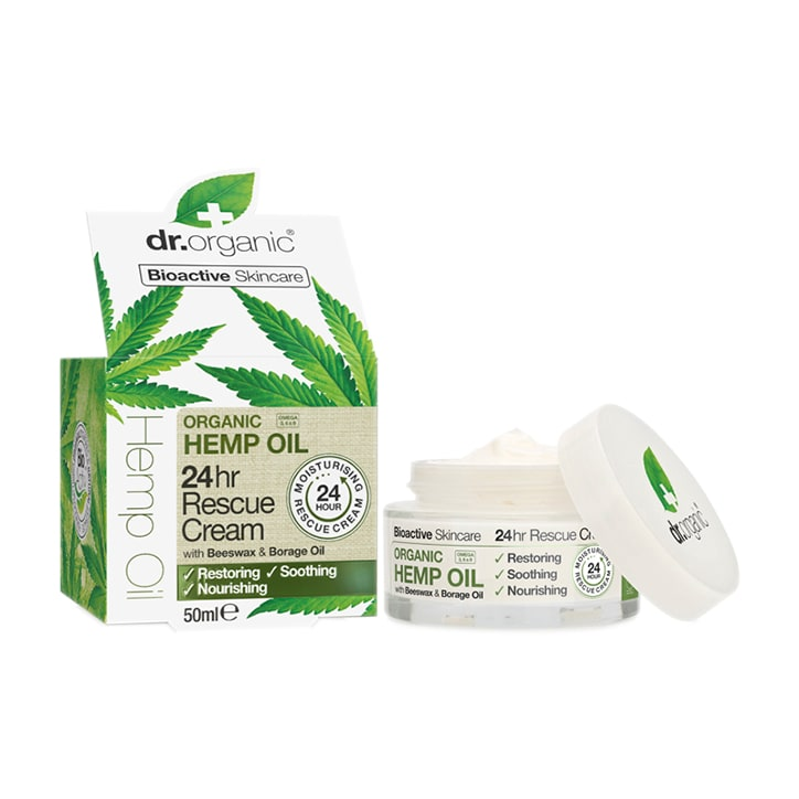 Dr Organic Hemp Oil 24hr Rescue Cream