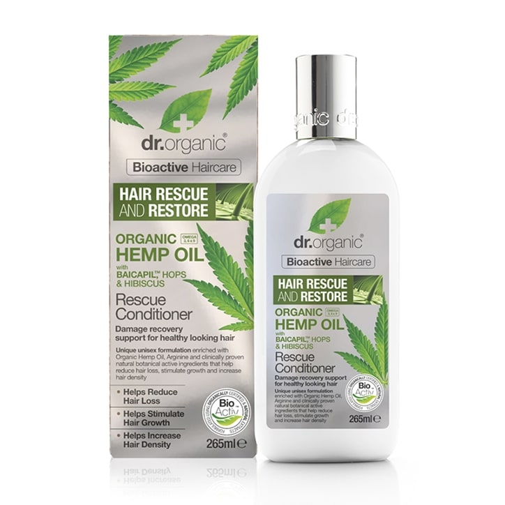 Dr Organic Hemp Oil Rescue & Restore Conditioner 265ml