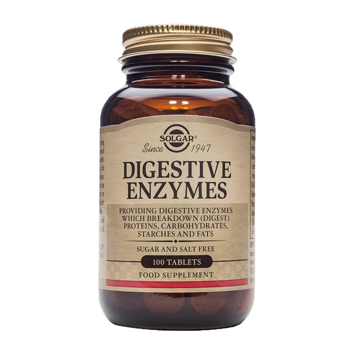 Solgar Digestive Enzymes 100 Tablets