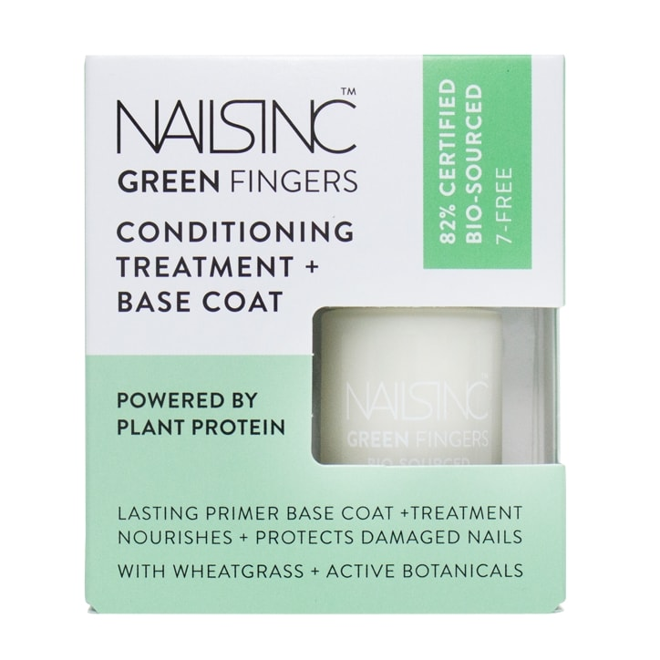 Nails Inc Green Fingers Bio Sourced Treatment and Base Coat
