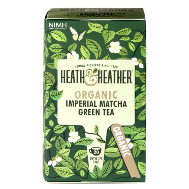 Heath & Heather Organic Imperial Matcha Tea 20g