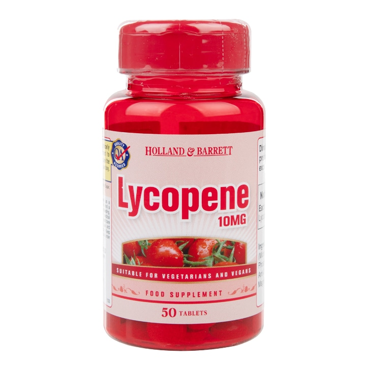Holland & Barrett Lycopene 10mg 50 Tablets