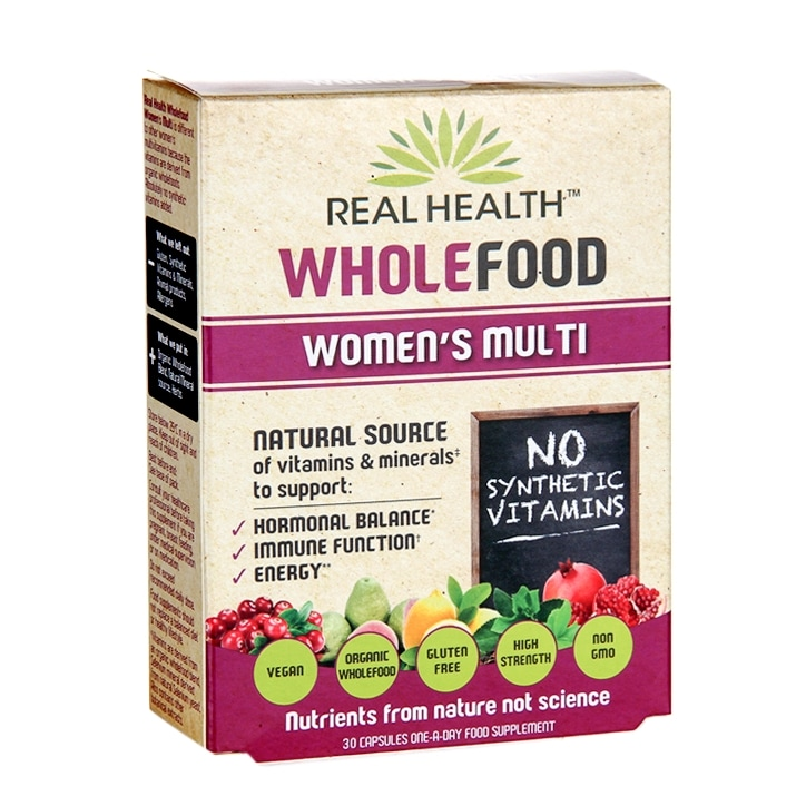 Real Health Wholefood Women's Multi 30 Capsules