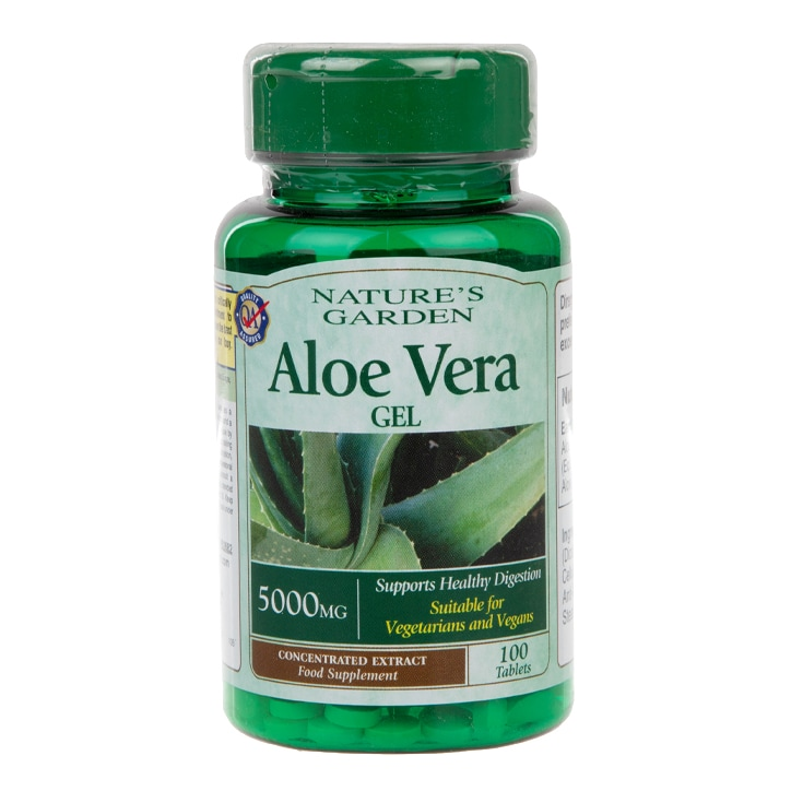Good n Natural Aloe Vera Gel 100 Tablets 5000mg