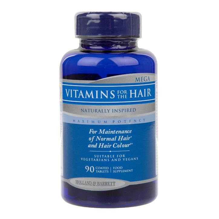 Holland & Barrett Mega Vitamins for the Hair Caplets