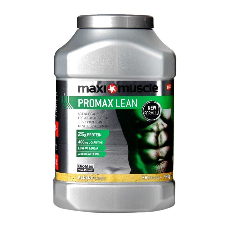 MaxiMuscle Promax Lean Powder Banana 990g