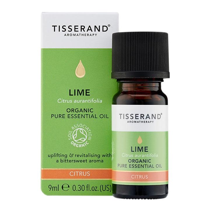 Tisserand Lime Organic Pure Essential Oil 9ml