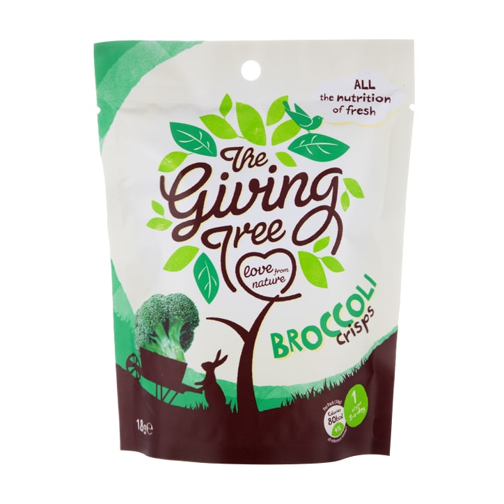 The Giving Tree Broccoli Crisps 18g
