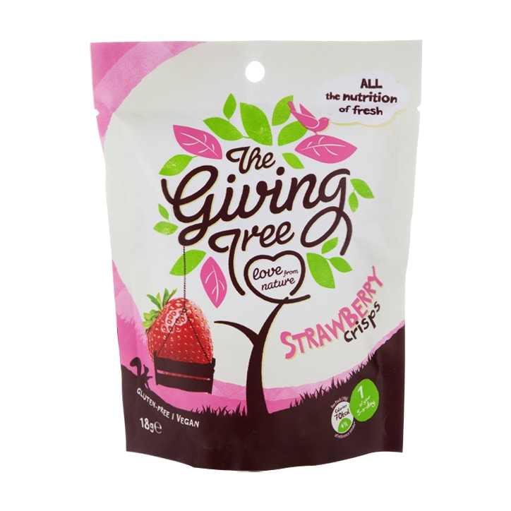 The Giving Tree Strawberry Crisps