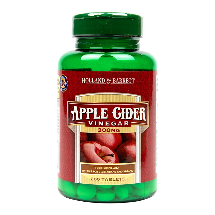 Holland & Barrett Apple Cider Vinegar Tablets 300mg