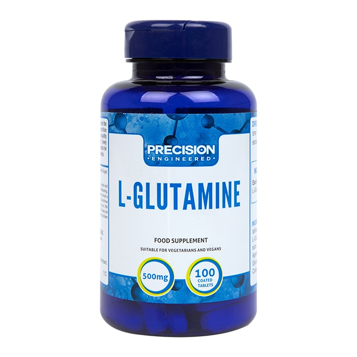 Precision Engineered l-glutamine 100 Tablets 500mg