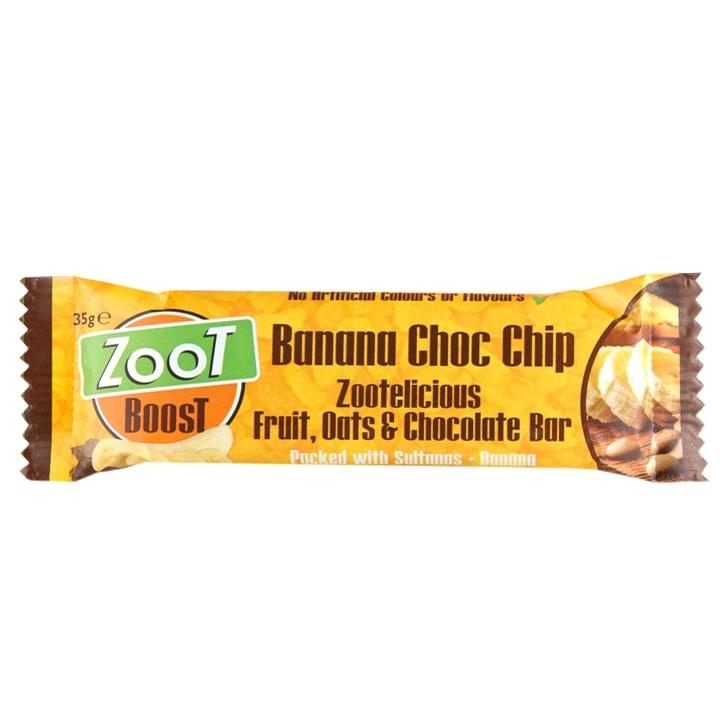 Zoot Foods Energy Bar Banana Choc Chip 35g