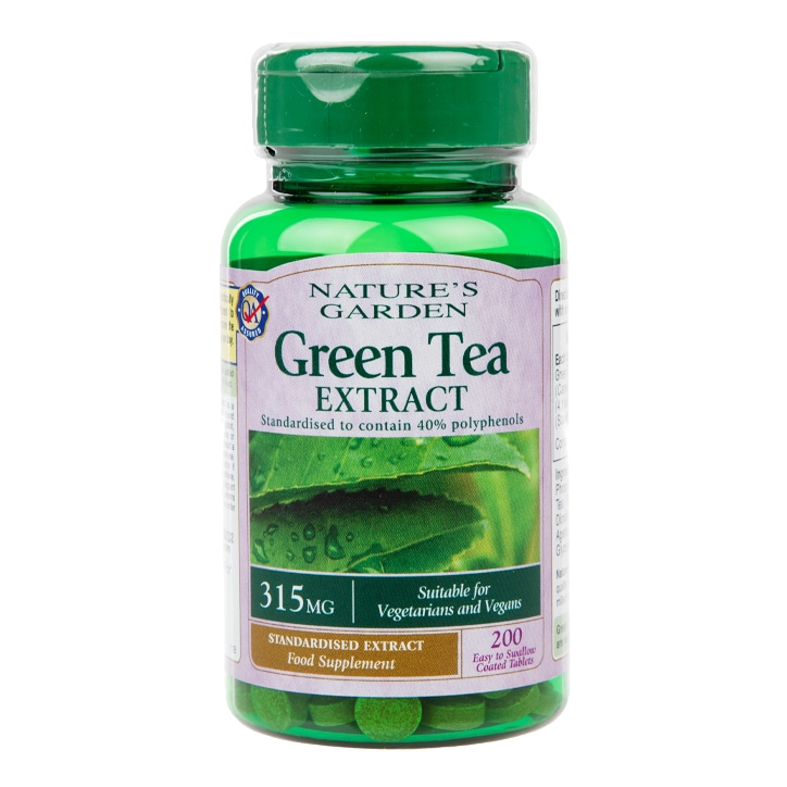 Good n Natural Green Tea Extract 200 Tablets 315mg