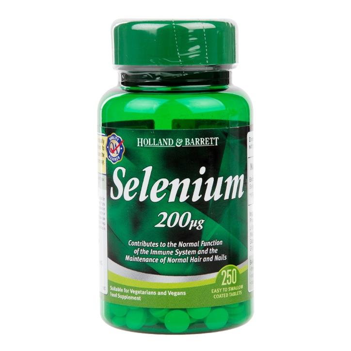 Holland & Barrett Selenium 250 Tablets 200ug
