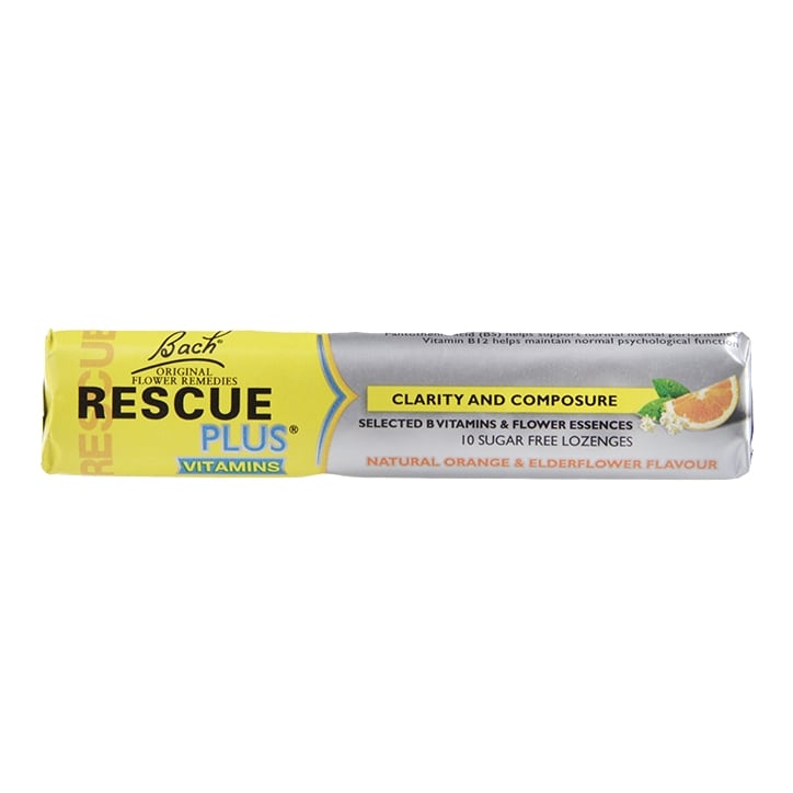Bach Rescue Plus 10 Lozenges