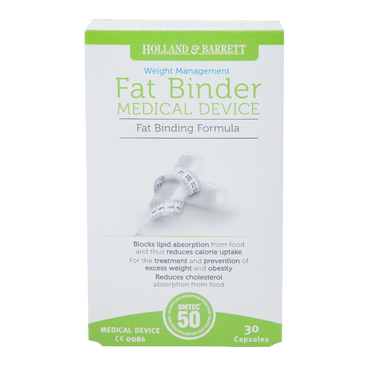 Holland & Barrett Fat Binder 15 Day Supply 30 Capsules