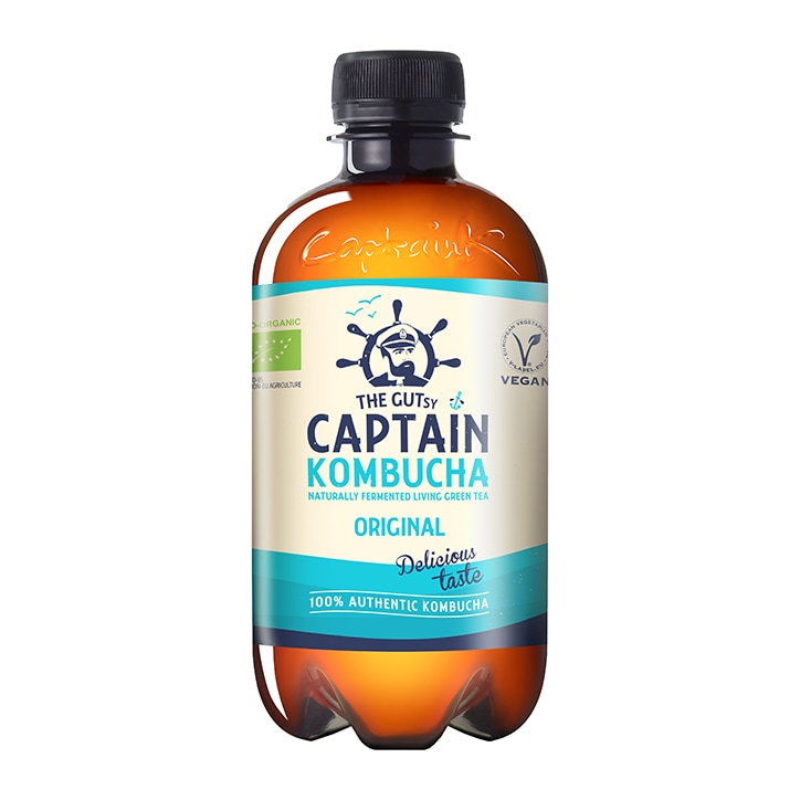 Captain Kombucha Original Bio-Organic Drink