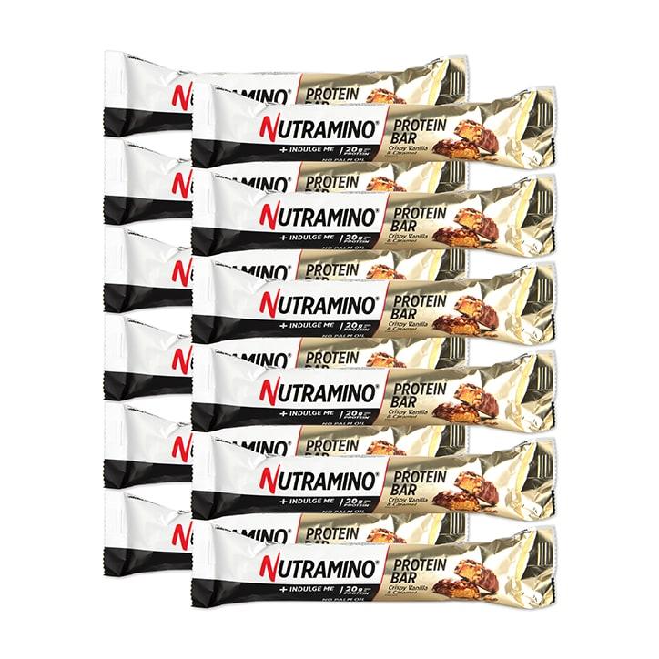 Nutramino Protein Bar Vanilla & Caramel 12 x 64g