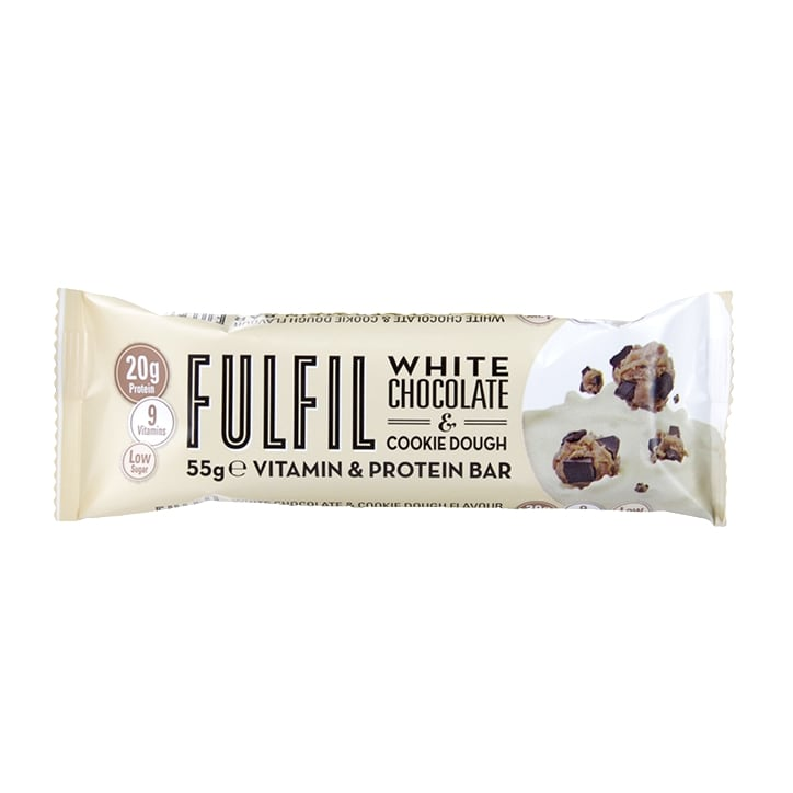 Fulfil White Chocolate & Cookie Dough Bar 55g