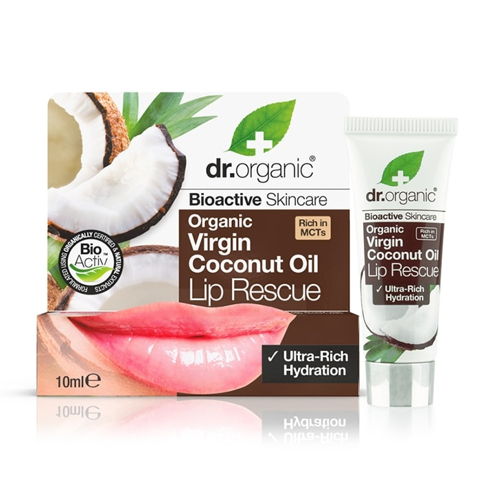 Dr Organic Virgin Coconut Oil Lip Serum
