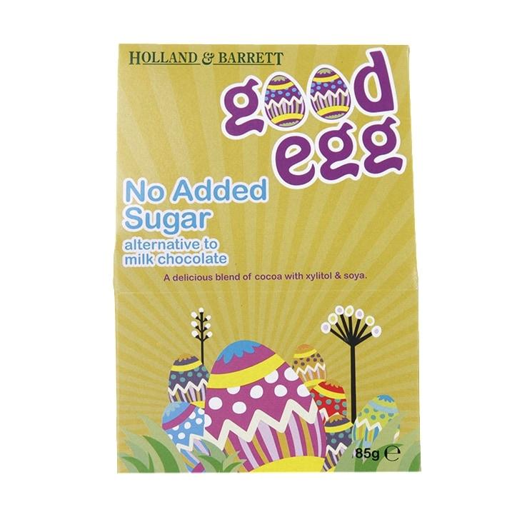 Holland & Barrett No Added Sugar Alternative to Milk Chocolate Egg 85g
