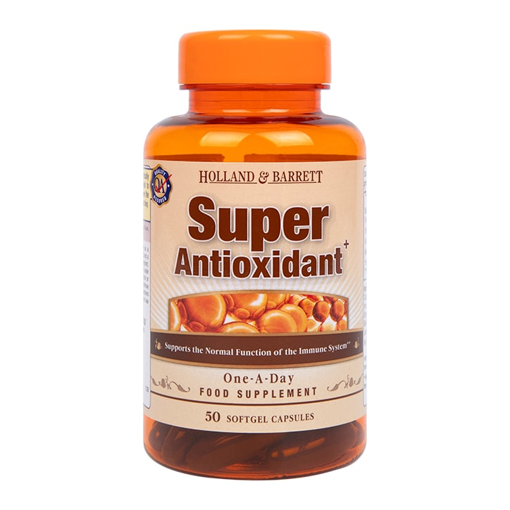 Holland & Barrett Super Antioxidant Formula 50 Capsules