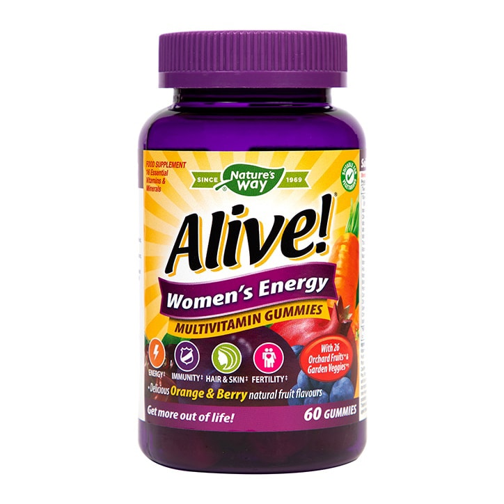 Nature's Way Alive! Womens Energy Soft Jells