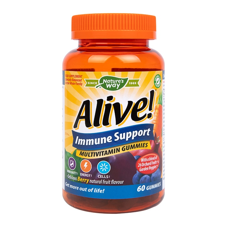 Nature's Way Alive! Immune Support Soft Jell 60 Tablets