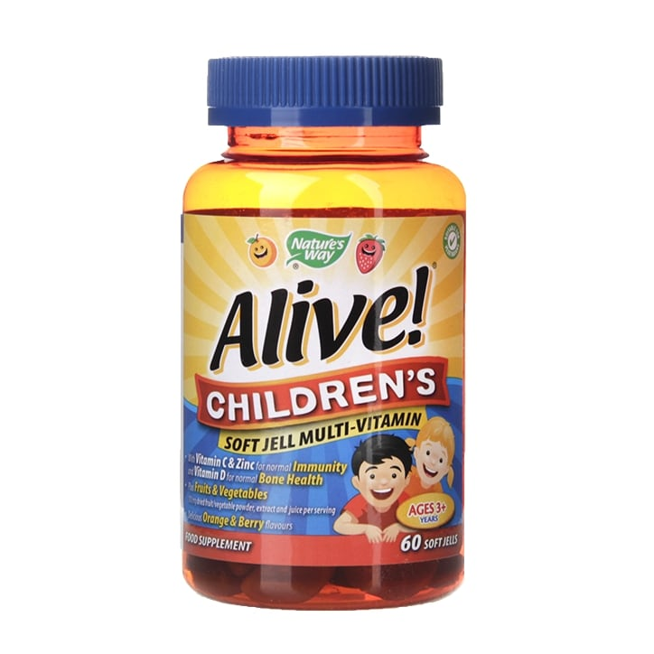 Nature's Way Alive! Children's Soft Jell 60 Tablets