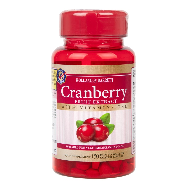 Holland & Barrett Cranberry Fruit Extract Tablets
