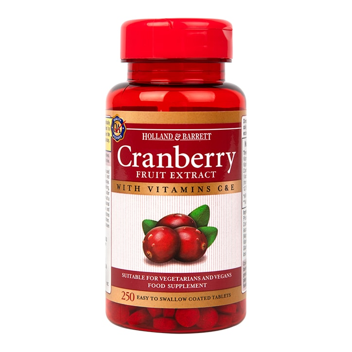 Holland & Barrett Cranberry Concentrate 250 Tablets