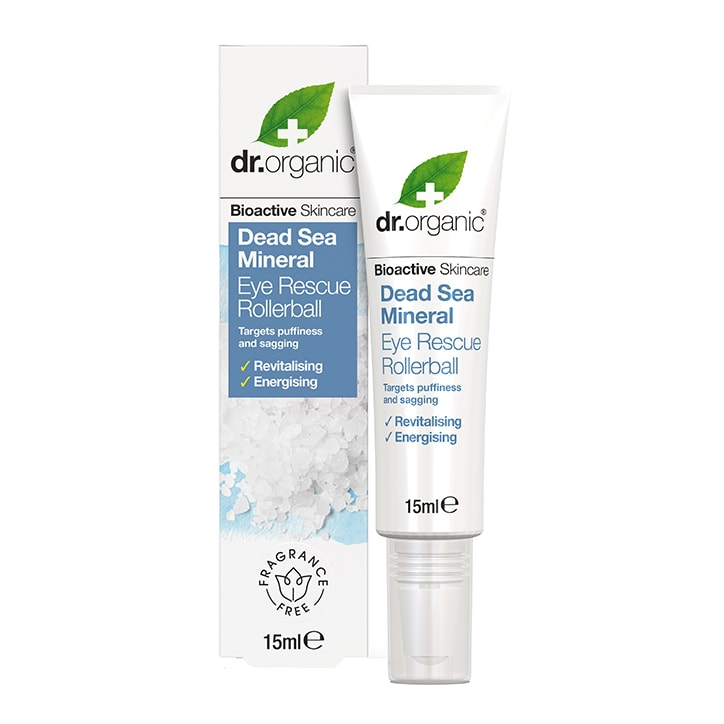 Dr Organic Dead Sea Mineral Eye Rescue Rollerball
