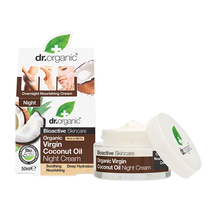 Dr Organic Virgin Coconut Oil Night Cream 50ml