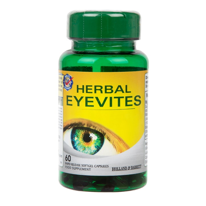Holland & Barrett Herbal Eyevites Capsules