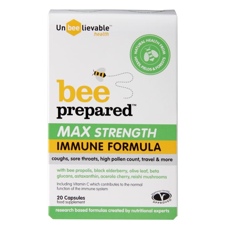 Unbeelievable Health Bee Prepared Max Strength 20 Capsules