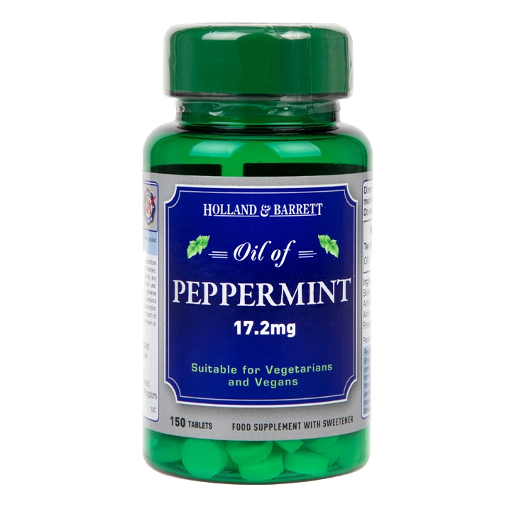 Holland & Barrett Oil of Peppermint 150 Tablets