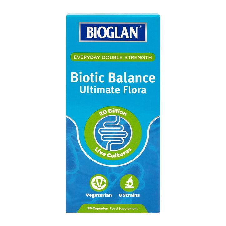 Bioglan Biotic Balance Ultimate Flora 30 Capsules