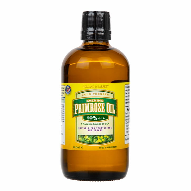 Holland & Barrett Natural Evening Primrose Oil Liquid Extract 120ml