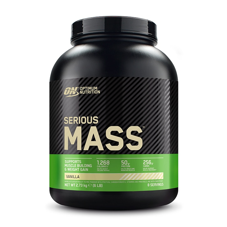 Optimum Nutrition Serious Mass Vanilla Powder 2700g
