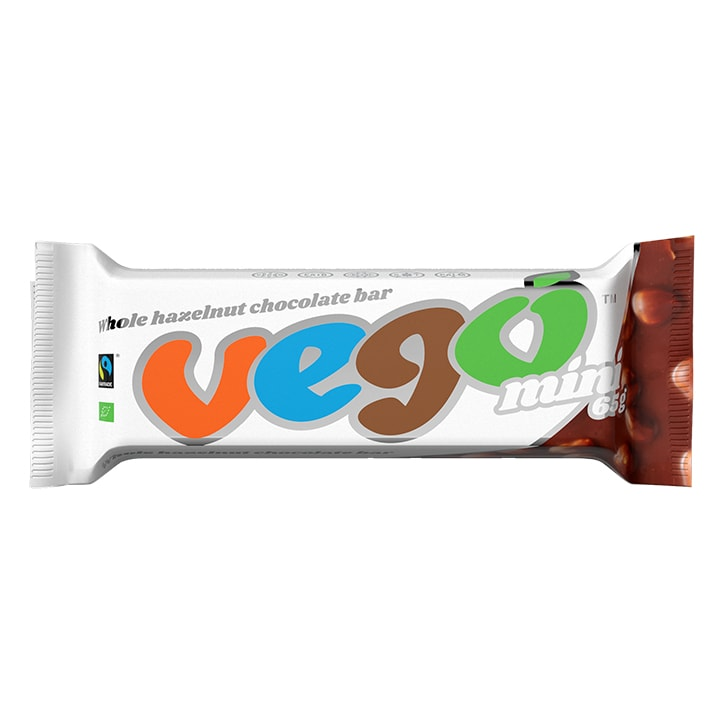 Vego Organic Hazelnut Chocolate Bar 65g