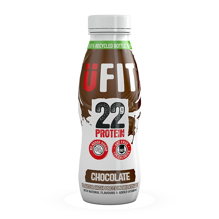UFIT High 22g Protein Drink Chocolate 310ml