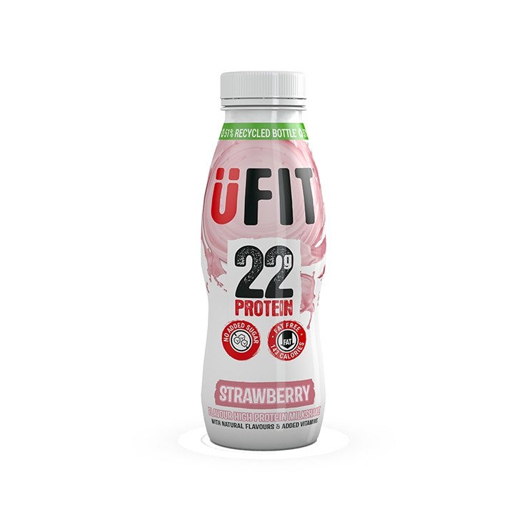 UFIT Protein Drink Strawberry 310ml