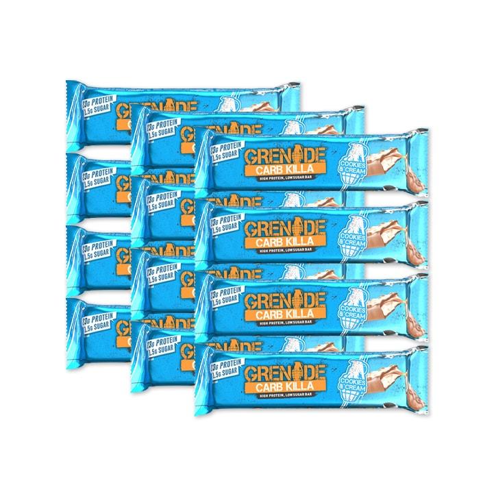 Grenade Carb Killa Cookies & Cream 12 x 60g