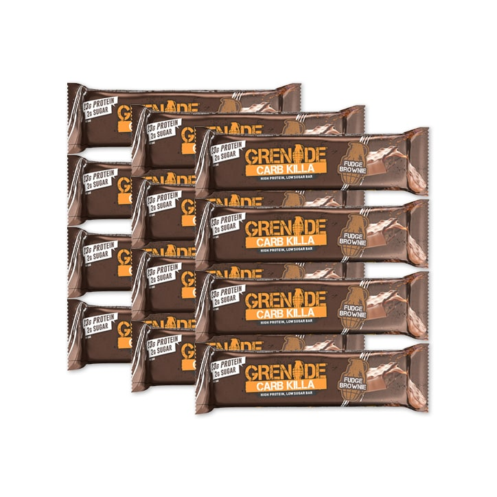 Grenade Carb Killa Fudge Brownie 12 x 60g