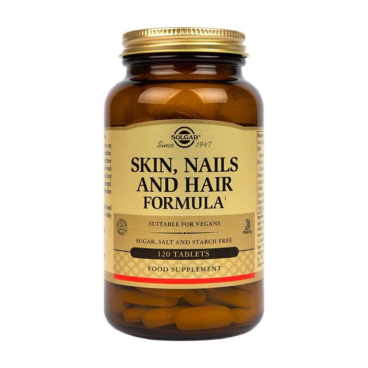Solgar Skin, Nails and Hair Formula 120 Tablets