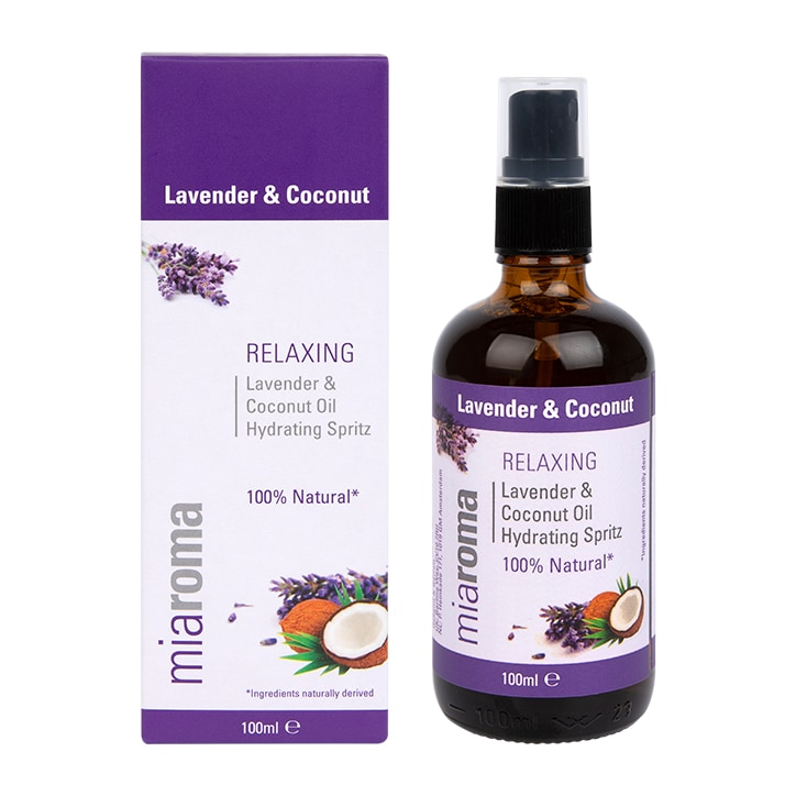 Miaroma Relaxing & Hydrating Lavender & Coconut Spritz 100ml