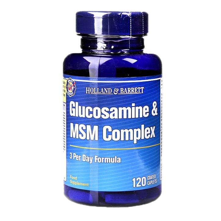 Holland & Barrett Glucosamine MSM Complex 120 Caplets