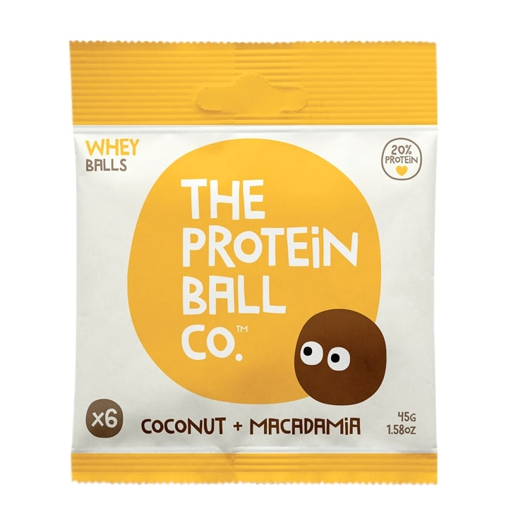 The Protein Ball co. Coconut & Macadamia 45g